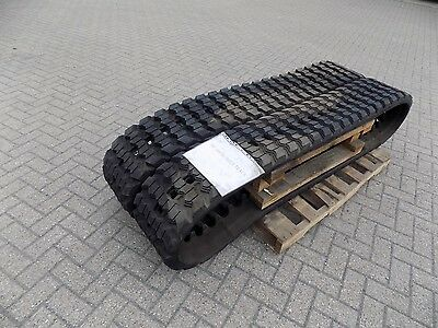 Pair Of Rubber Tracks To Suit Case Skid Steer/compact Track Loader 440 Etc.