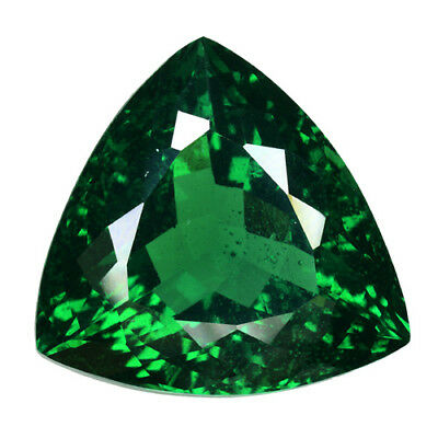 47.815Cts Glorious Luster Green Natural ( Moldavite) Natural Glass Trillion