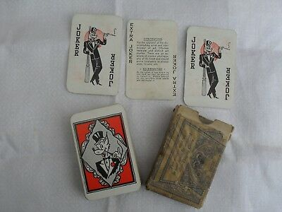 Vintage 1950's Glamour Playing Cards Pin Up Girls Complete Deck