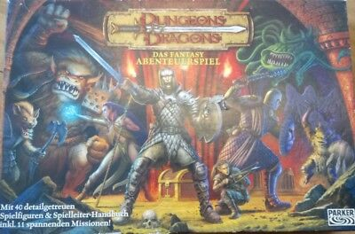 Dungeons and Dragons Brettspiel von Parker