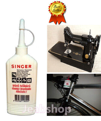 SINGER Oil Lubricant Sewing Machine Appliance All Purpose High Quality 80 cc.