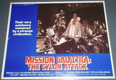 Lobby Card Single - 11 x 14 : MISSION GALACTICA - THE CYLON ATTACK : BATTLESTAR