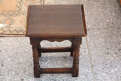 Child's size Oak stool or table