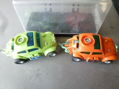 Faller ams: 2 X AFX VW Buggy, 1 X in BOX