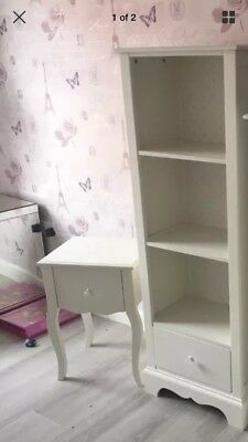 Next Girls 2 Piece Bedroom Furniture White