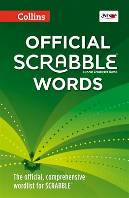Collins Official Scrabble Words [Fourth Edition] - Hardback - NEW - Book