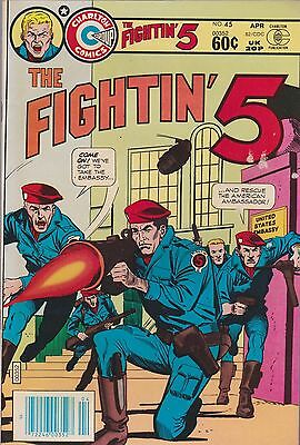 Fightin' Five #45 (Apr 1982, Charlton)