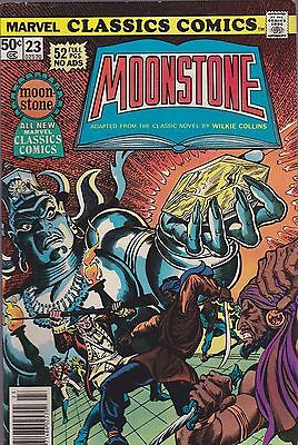 Marvel Classics Comics #23 - The Moonstone (1977, Marvel) By Wilkie Collins