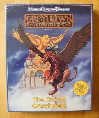 The City Of Greyhawk ~ Box Set ~ Shrink Wrap! ~ Dungeons & Dragons Ad&d 1043