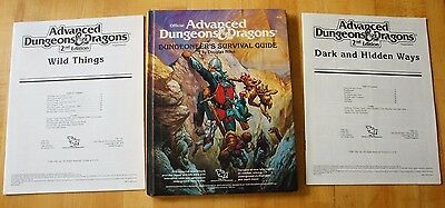 Dark And Hidden Ways ~ Wild Things ~ Dsg Lot ~ Rare ~ Dungeons And Dragons Ad&d