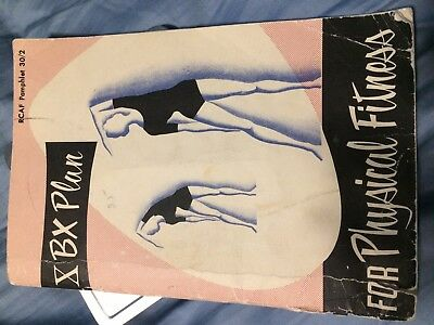 """***rare 1962 """"rcaf, Royal Canadian Air Force Pamphlet 30/2"""" Physical Fitness"""