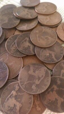 British One Penny Coins Pack of 10
