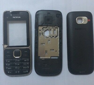 Replacement For A Nokia C2-01 Black Housing Fascia Cover
