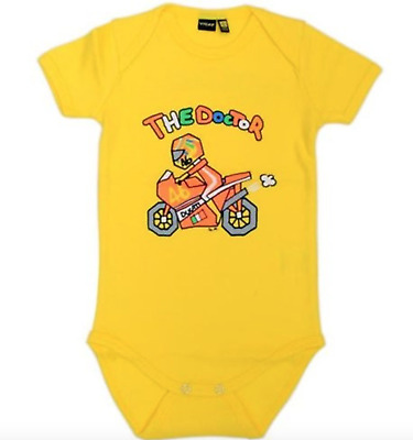 Valentino Rossi VR46 MotoGP Official Baby Body Suit 24 Months