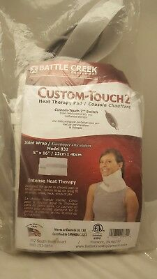 "New Custom-Touch2 Heat Therapy Pad Model 832 Size: 5""x16"" Joint Wrap"