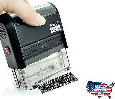 "Identity Theft Protection Stamp - Standard Size (7/8"" X 2-5/16""), New, Free Ship"