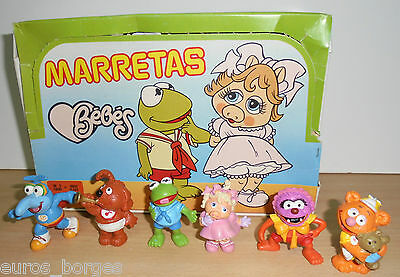 Vintage 1985 Muppets Figures Schleich Maia Borges Made In Portugal Muppet Babies