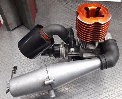 KYOSHO MAD FORCE NITRO ENGINE GS21 GS-21 3,5cc PULL START - MOTORE MONTER TRUCK