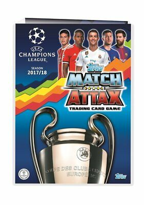UEFA Champions League 17/18 2017/2018 match attax cards Hot Shot Club Pro11 pro