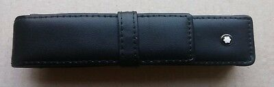 ⭐ Montblanc leather case for fountain / ballpoint / roller pen ⭐