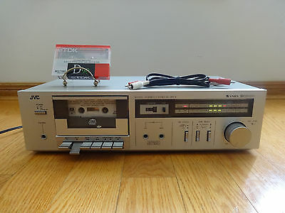 JVC KD-D2 Stereo Cassette Tape Deck 1981 Japan TESTED 100% Works Great!