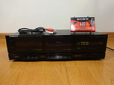Pioneer CT-W310 Dual Cassette Tape Deck Japan 1989 TESTED 100% Works Great!