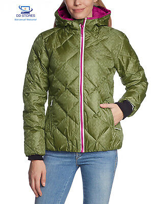 2117 of Sweden - Giacca donna Eco Street Floby, Verde (Armygreen), 38