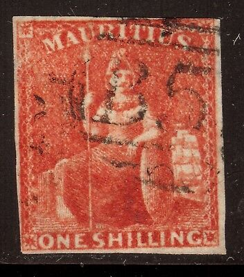 Stamp Muaritius Scott#19 used VF Bright Fresh Color