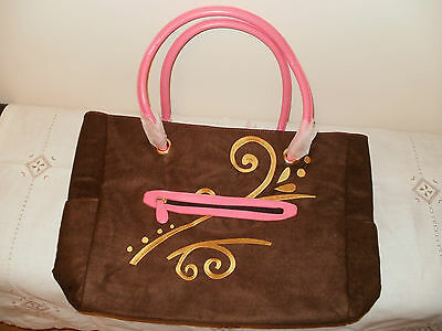 Special MK * BRAND NEW, SMART LOOKING  GOLD COLOUR EMBROIDERED  SHOULDER BAG *