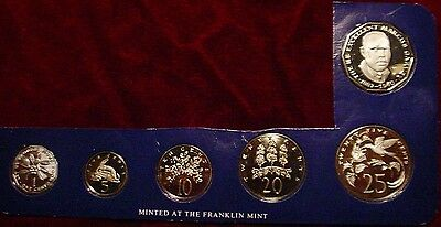 Only 22,900 Minted 6 Coin Jamaica Proof Set Still In Mint Packaging*partial Set