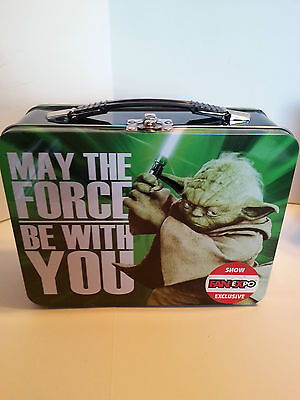 Star Wars Fan Expo Exclusive Lunchbox Featuring Yoda
