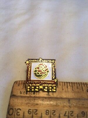 America's New Year Celebration Tournament Of Roses Centennial Pin