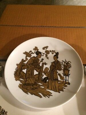 AK Kaiser W Germany Chinese Japanese Oriental Collector Plate