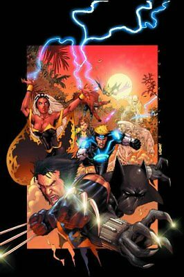 X-MEN/BLACK PANTHER WILD KINGDOM By Salvador Larroca **Mint Condition**