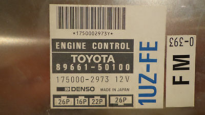 ECM from a JDM 1992 - 1994 Toyota Celsior chassis UCF11