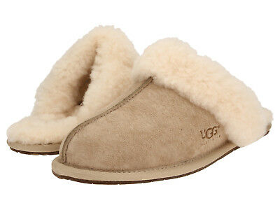 Women UGG Australia Scuffette II Slipper 5661 Sand 100% Authentic Brand New