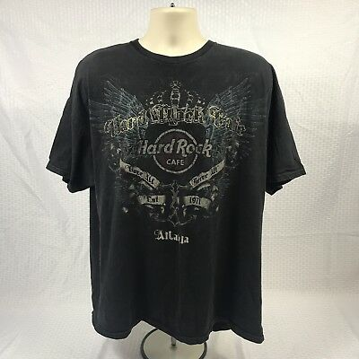 Hard Rock Cafe Atlanta T Shirt Mens XXLarge (B5)