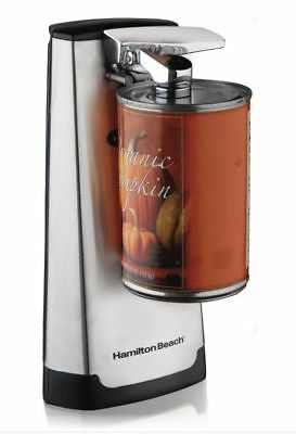 Hamilton Beach Electric Can Opener With Knife Sharpener Stainless