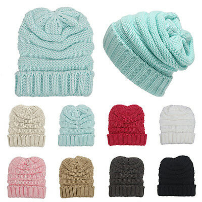 Infant Kids New Beanie Toddler Girl Boy Woolen Baby Hat Knitted Warm Cute Cap