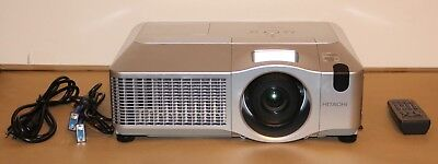 Hitachi CP-WX625 Multimedia 3LCD Projector 4,000 Lumens New LAMP Installed