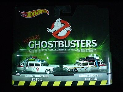 2016 Hot Wheels GHOSTBUSTERS Twin pack 1:64 scale >> * $6 Postage!
