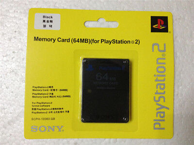 New 64MB Memory Card for For PS2 Playstation 2
