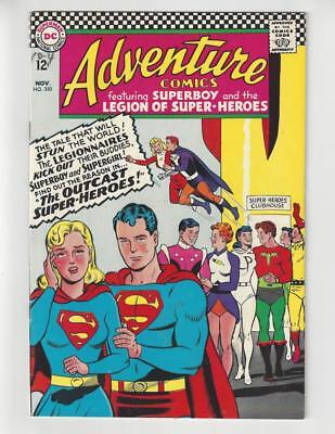 Adventure Comics #350/Silver Age DC Comic Book/Legion of Super-Heroes/FN+