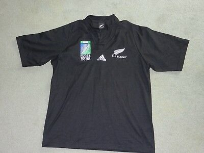 New Zealand All Blacks 2003 World Cup Jersey