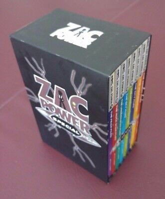 Zac Power, The Special Files ***BOX SET OF 8 BOOKS***