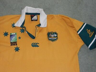 Wallabies 2003 World Cup Jersey,licensed Product