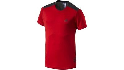 (- red, Small) - Adidas Tentro PES Tee. Shipping Included