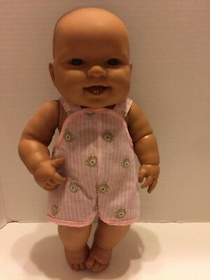 "Berenguer Doll 14"" Open Mouth Teeth Brown Eyes"