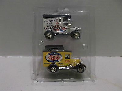 Pepsi Cola Die Cast Set Of Two TrucksNIB!