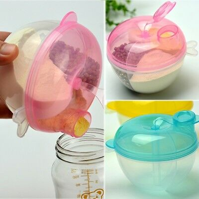 Baby Milk Powder Formula Dispenser Food Container Travel Storage Feeding Box New